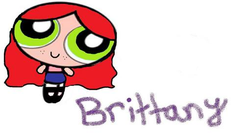 brittany the powerpuff girl