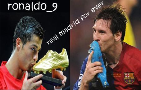 messi vs ronaldo. cris vs messi