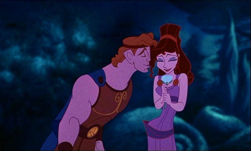 kiss - hercules-and-megara Photo