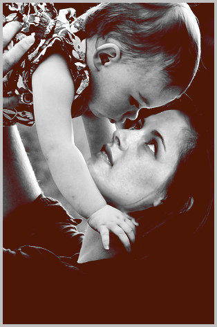 kristen with renesmee