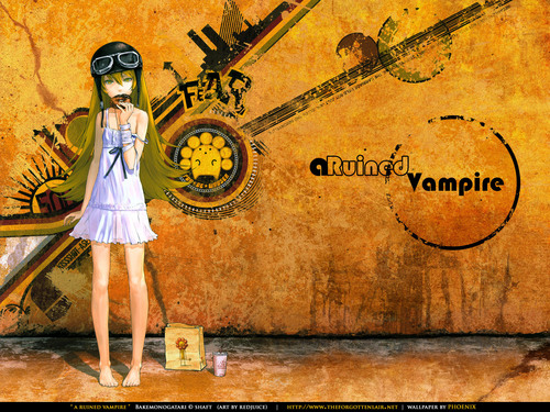 animê wallpaper entitled loli vampire