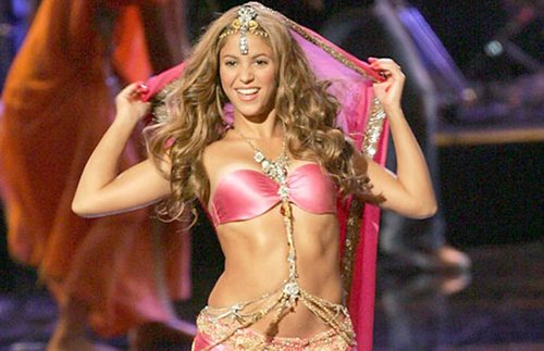 Shakira wallpaper called shakira pink bra 2