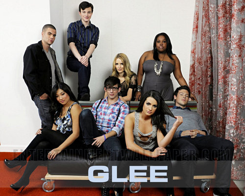 the Glee team