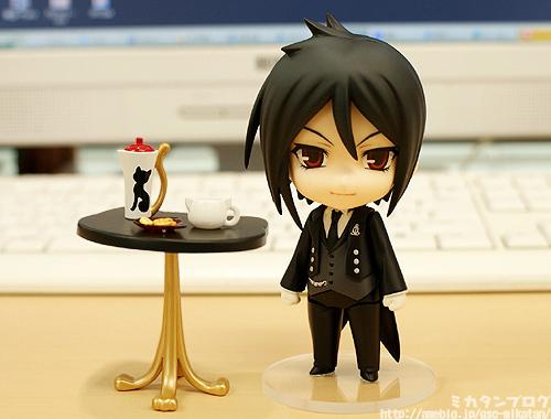 tiny Sebastian figurine