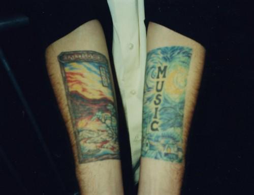 Andrew's Tattoos
