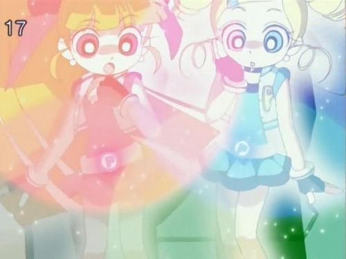 powerpuff girls Z wallpaper probably containing a hard candy called Bubbles and blossom