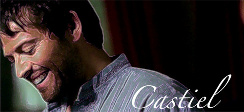 Castiel wallpaper entitled Castiel fan Art*
