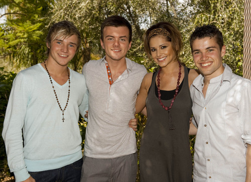 Cheryl and her boys!