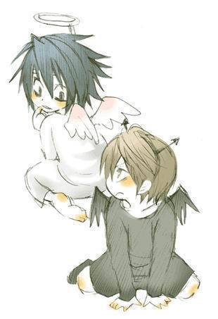 Death Note achtergrond containing anime called Chibi Death Note~