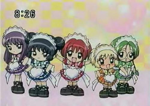 chibi Mew Maids