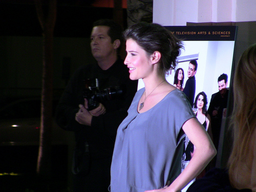 Cobie - Academy of Televisione Arts & Sciences