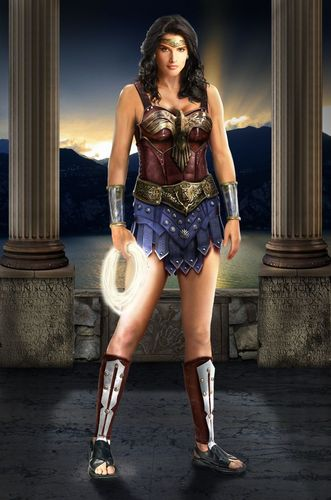 Cobie as Wonder Woman