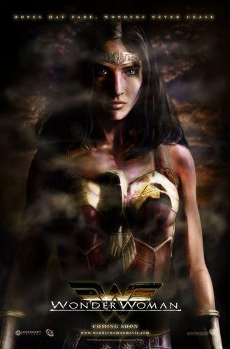 Cobie as Wonder Woman