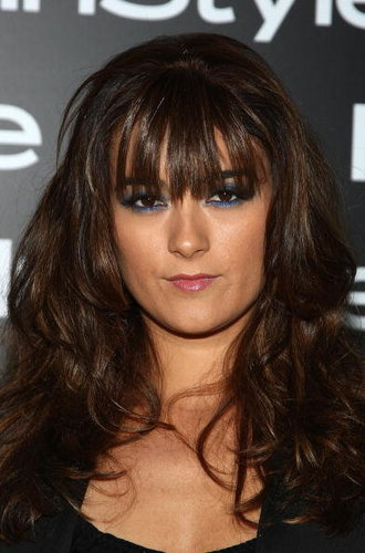 Cote de Pablo achtergrond possibly containing a portrait called Cote de Pablo