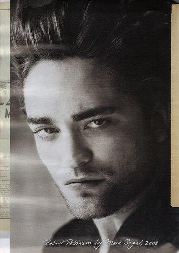 HQ Scan of Rob from 'Interview' Magazine