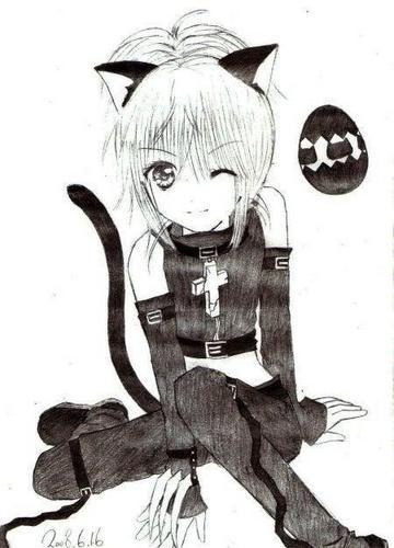 Amulet black lynx