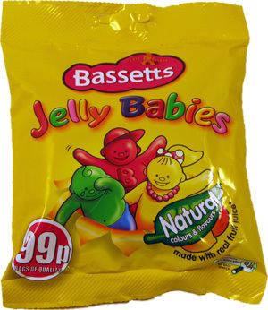 Jelly Babies Packet