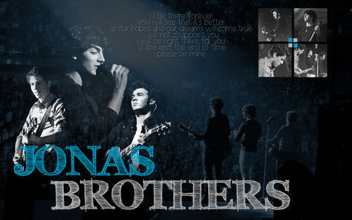 The Jonas Brothers wallpaper containing a sign called Jonas Wallpaper