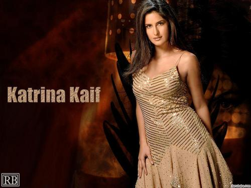 Katrina Kaif wallpaper containing a dinner dress entitled Kat
