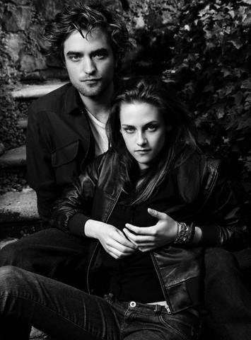 Kristen Stewart and Robert Pattinson - Vanity Fair Italy - kristen-stewart photo