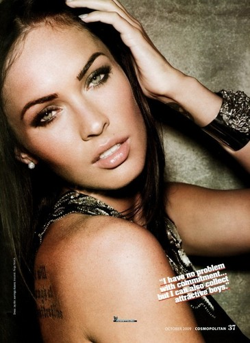 Megan Fox, Cosmopolitan (October 2009)