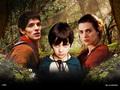 Merlin, Mordred & Morgana