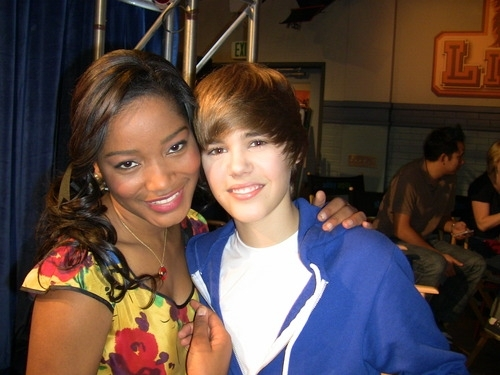 On The Set Of True Jackson VP