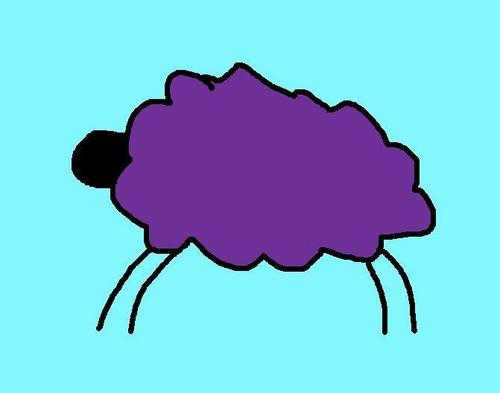 TFW - The Friends whatever wallpaper called Purple Sheep