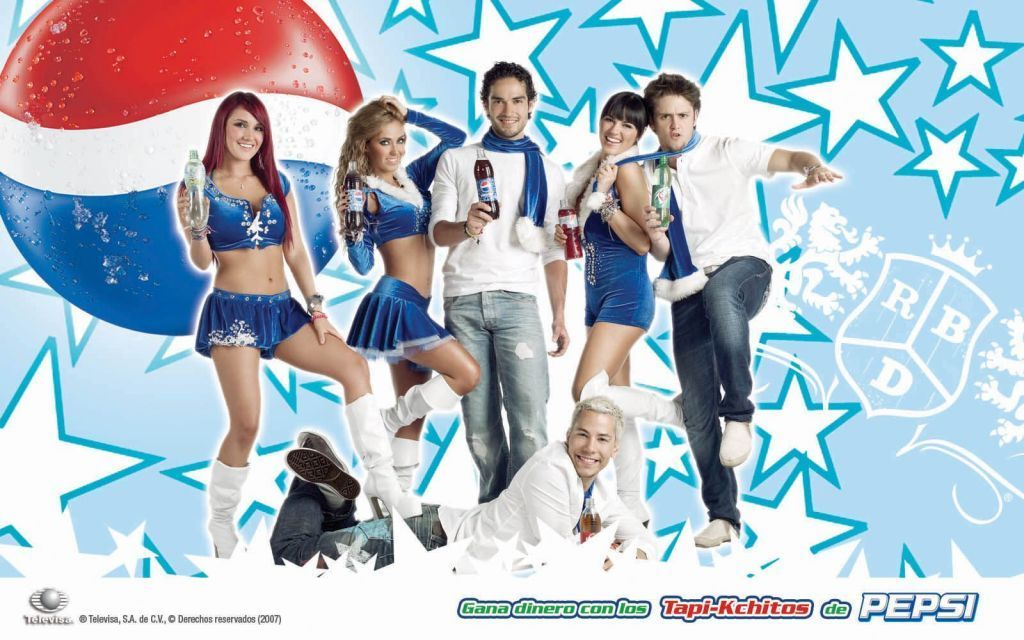 RBD pepsi commercial - rbd-band photo