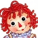Raggedy Ann Icon - raggedy-ann-and-andy icon