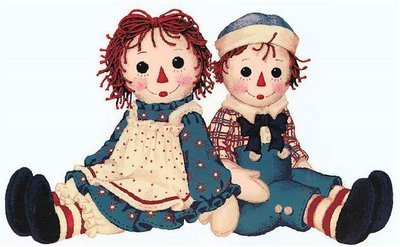Raggedy Ann and Andy পুতুল