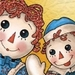 Raggedy Ann and Andy Icon - raggedy-ann-and-andy icon