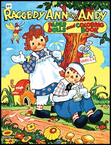 Raggedy Ann and Andy Paper পুতুল