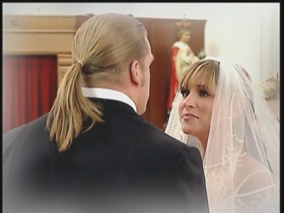 Triple H and Stephanie Mcmahon images Real-Life Wedding Pictures wallpaper and background photos