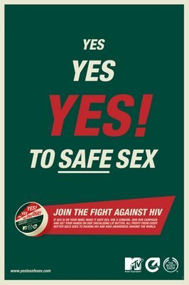 safe, sicher Sex Posters