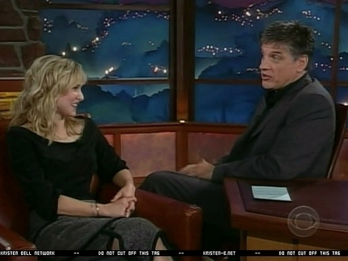 The Late Late Show With Craig Ferguson (November 28, 2005) - kristen-bell Screencap
