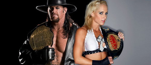 Emily Maitlis Wallpaper: Michelle McCool Images Undertaker And Michelle-Champions