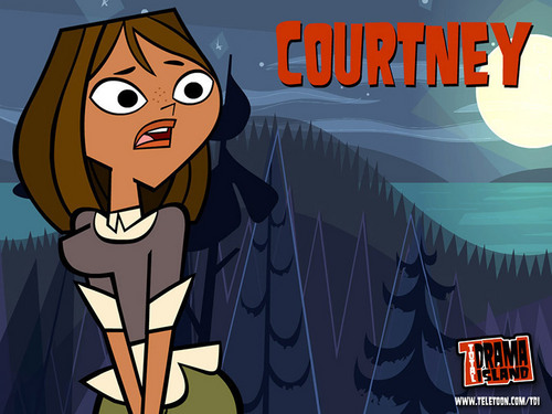 TOTAL DRAMA ISLAND'S Courtney! wallpaper with anime entitled Wallpaper