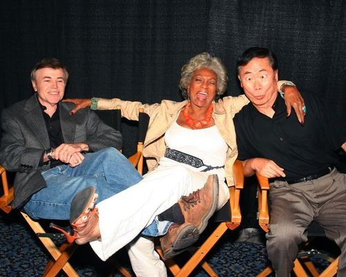 Walter, Nichelle and George