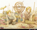 ed and al - fullmetal-alchemist-manga wallpaper