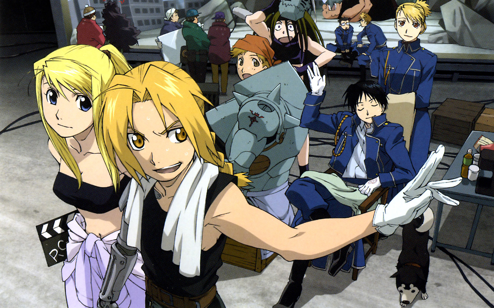 Fullmetal Alchemist wallpaper - Anime characters | Animelovers411's Blog