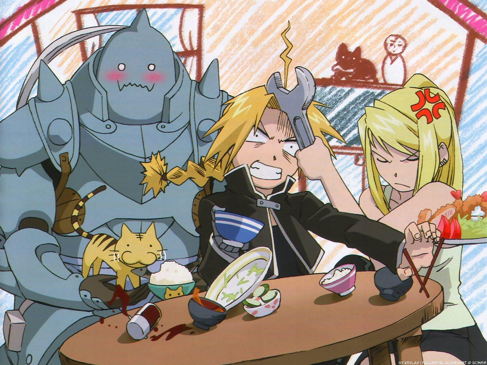 Fullmetal Alchemist Manga Images Wallpaper HD And Background Photos