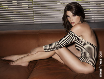 Ashley Greene for Men's Fitness