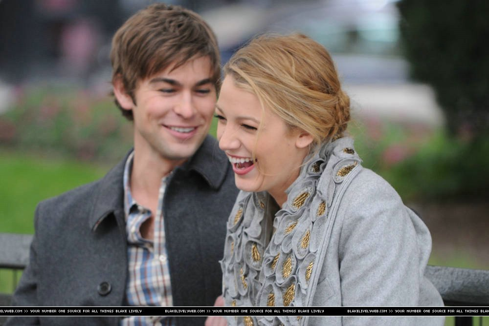 (MORE) blake & chace on set (october 14th) - serena-and-nate photo