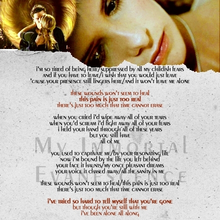 """My Immortal - a Buffy/ Angel fanmix"" made sa pamamagitan ng crystalsc on LJ"