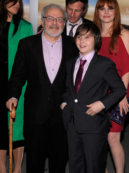 'Where The Wild Things Are' Premiere in New York on October 13, 2009: Maurice Sendak & Cast