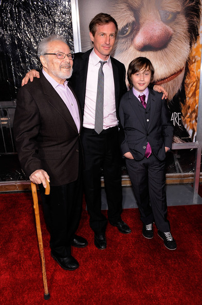 'Where The Wild Things Are' Premiere in New York on October 13, 2009: Sendak, Jonze & Records