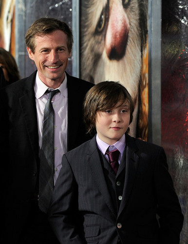 'Where The Wild Things Are' Premiere in New York on October 13, 2009: Spike Jonze & Max Records