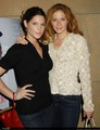 Ash and Rachelle at holly shorts film festival´08 - twilight-series photo