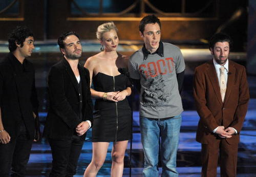 Jim Parsons images BBT cast at Spike TV's Scream 2009 Awards (10.17.09) wallpaper and background photos